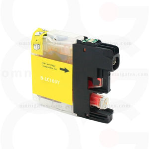 Yellow OGP Compatible Brother LC103 Inkjet Cartridge