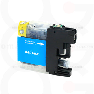 Cyan OGP Compatible Brother LC105 Inkjet Cartridge
