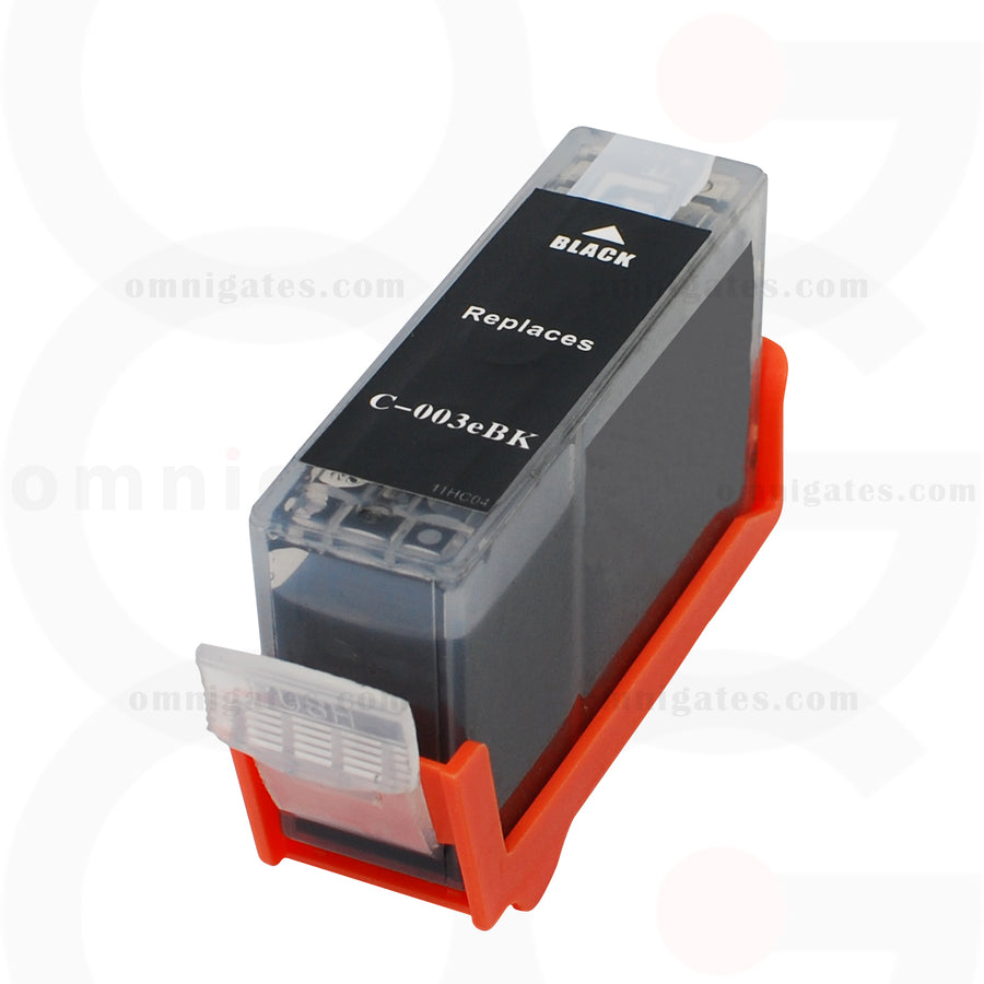 Black OGP Remanufactured Canon BCI-3eBK Inkjet Cartridge
