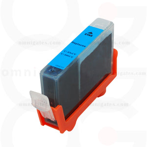 Cyan OGP Remanufactured Canon BCI-3eC BCI-5/6C Inkjet Cartridge