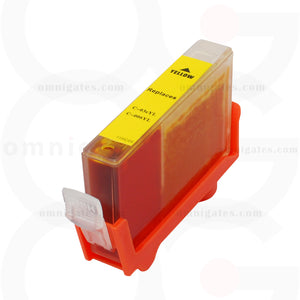 Yellow OGP Remanufactured Canon BCI-3eY BCI-5/6Y Inkjet Cartridge