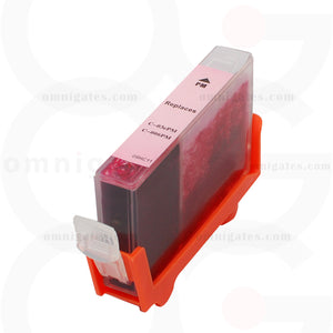 Photo quality magenta OGP Remanufactured Canon BCI-3ePM BCI-5/6PM Inkjet Cartridge