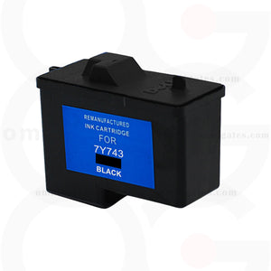 Black OGP Remanufactured Dell 7Y743 Inkjet Cartridge