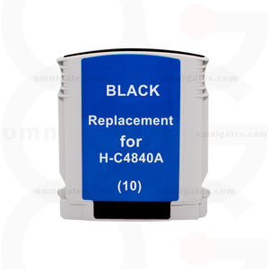 Black OGP Remanufactured HP C4840A Inkjet Cartridge
