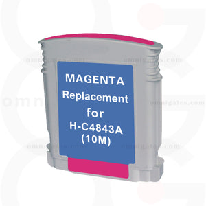 Magenta OGP Remanufactured HP C4843A Inkjet Cartridge