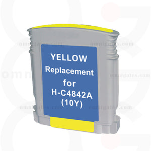 Yellow OGP Remanufactured HP C4842A Inkjet Cartridge