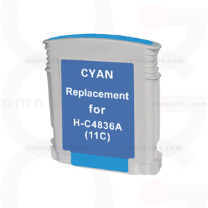 Cyan OGP Remanufactured HP C4836AN Inkjet Cartridge