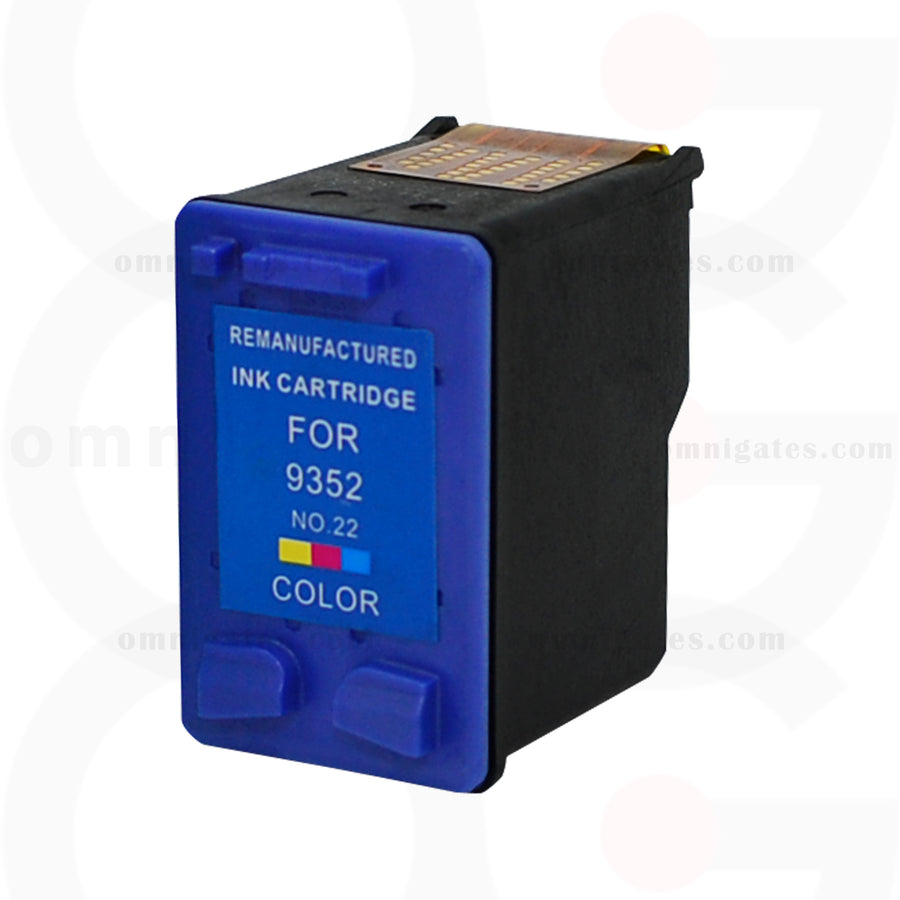 Color OGP Remanufactured HP C9352AN Inkjet Cartridge