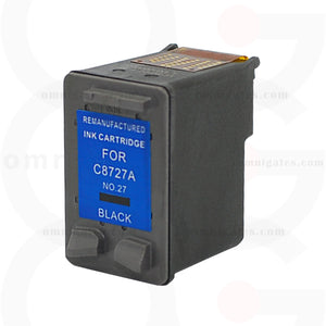 Black OGP Remanufactured HP C8727A Inkjet Cartridge