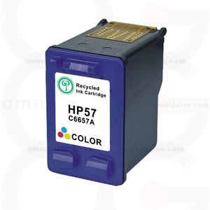 Color OGP Remanufactured HP C6657A Inkjet Cartridge