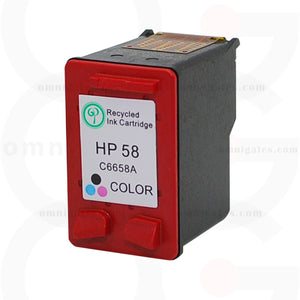 Color OGP Remanufactured HP C6658A Inkjet Cartridge