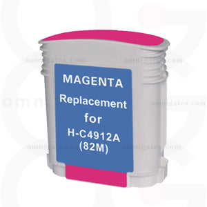 Magenta OGP Remanufactured HP C4912A Inkjet Cartridge