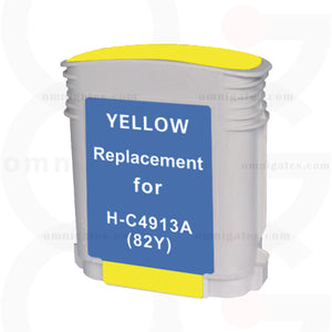 Yellow OGP Remanufactured HP C4913A Inkjet Cartridge