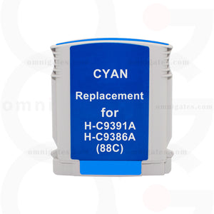 Cyan OGP Remanufactured HP C9391AN/9386AN Inkjet Cartridge