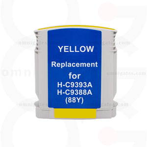 Yellow OGP Remanufactured HP C9393AN/C9388AN Inkjet Cartridge