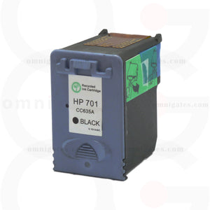 Black OGP Remanufactured HP CC635A Inkjet Cartridge