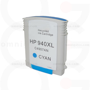 Cyan OGP Remanufactured HP C4907AN Inkjet Cartridge