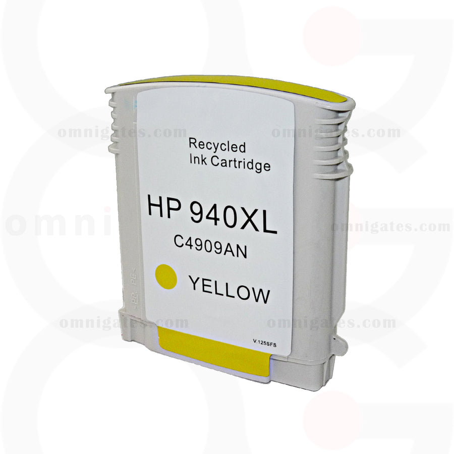 Yellow OGP Remanufactured HP C4909AN Inkjet Cartridge