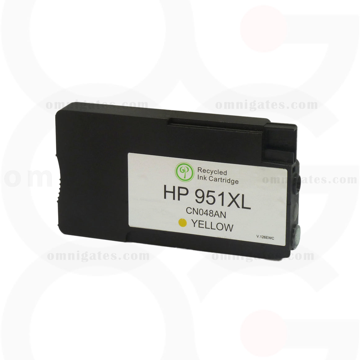 Yellow OGP Remanufactured HP CN048AN Inkjet Cartridge
