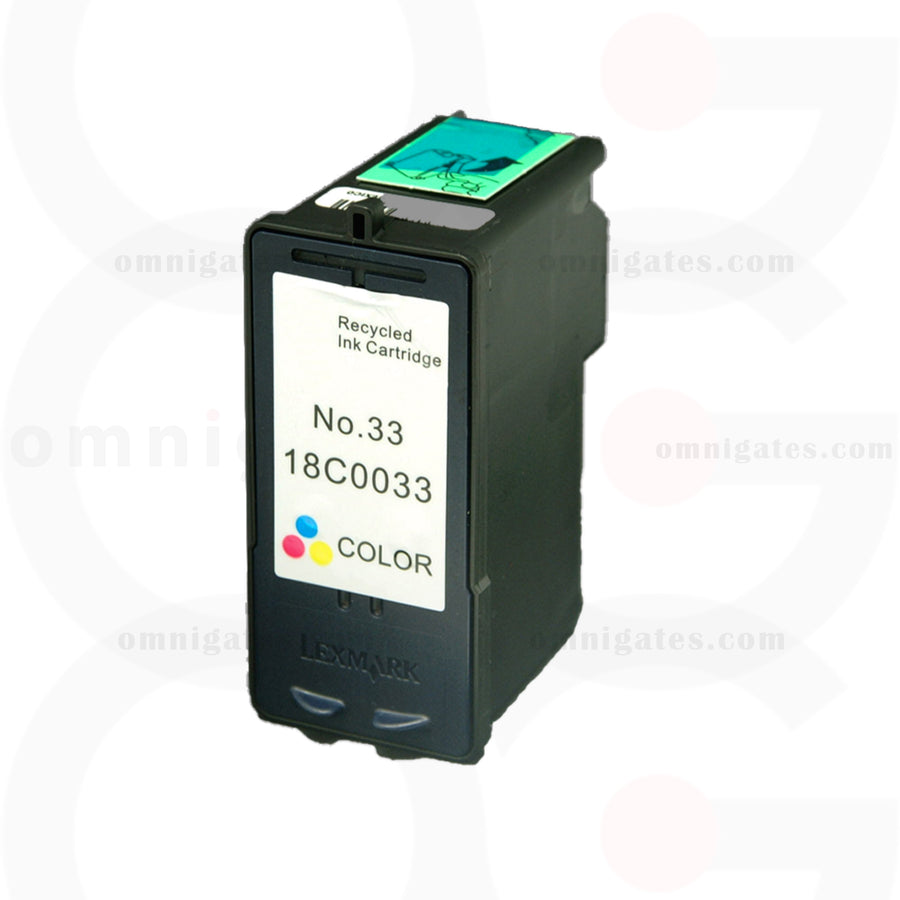 Color OGP Remanufactured Lexmark 18C0033 Inkjet Cartridge