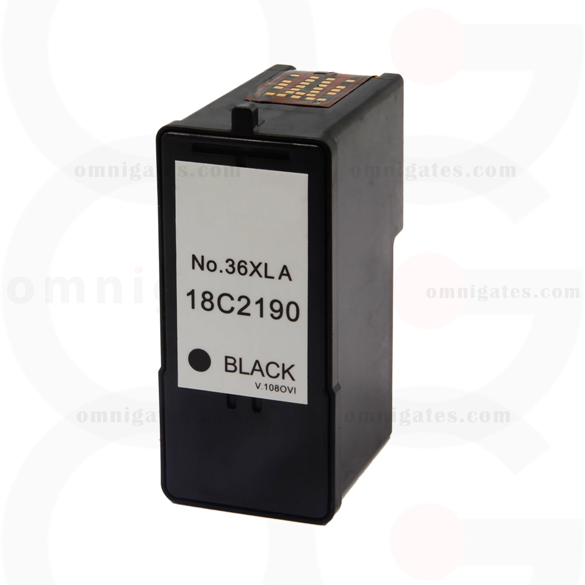Black OGP Remanufactured Lexmark 18C2190 Inkjet Cartridge