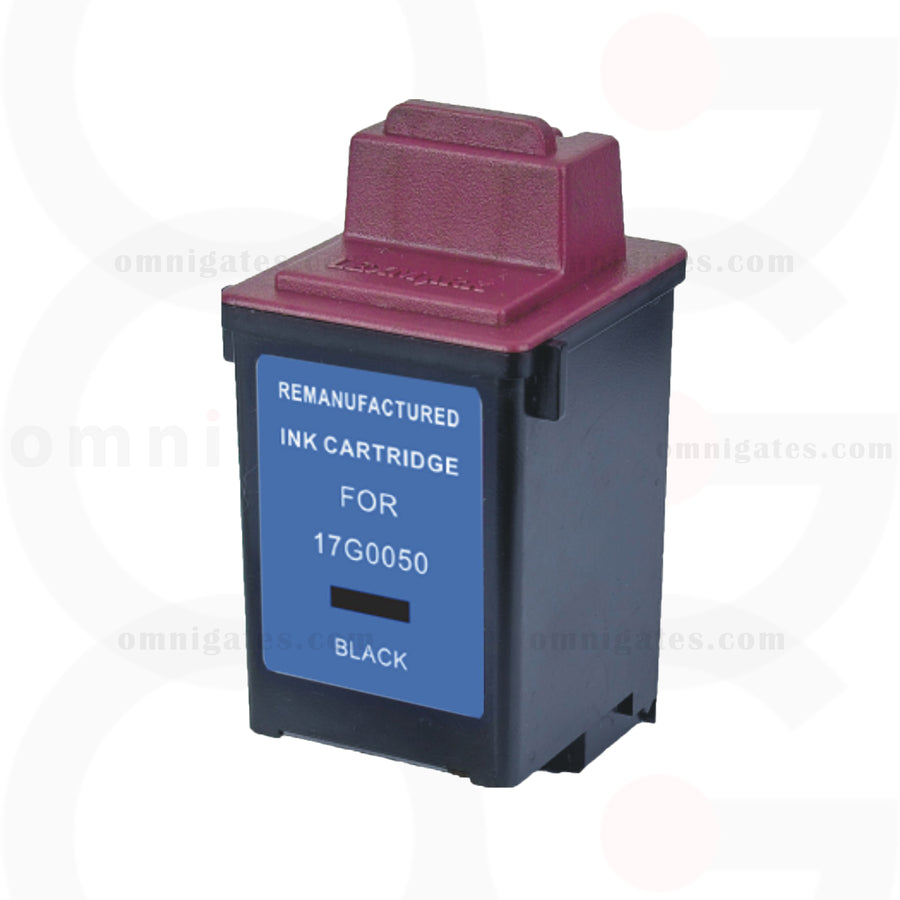 Black OGP Remanufactured Lexmark 17G0050 Inkjet Cartridge
