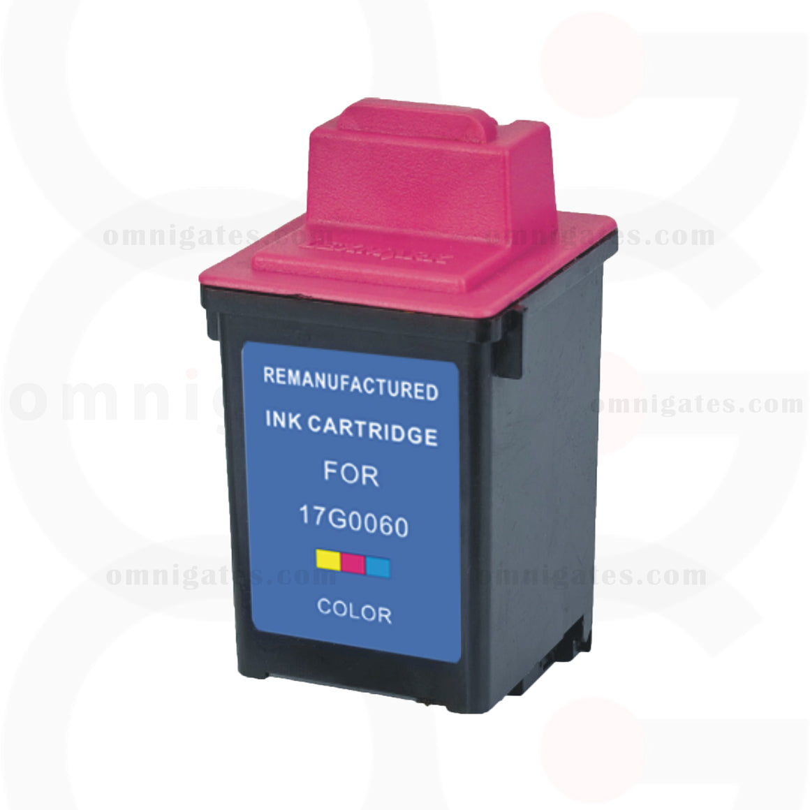 Color OGP Remanufactured Lexmark 17G0060 Inkjet Cartridge