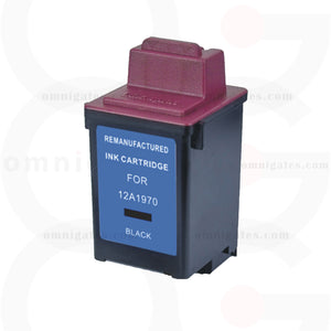 Black OGP Remanufactured Lexmark 12A1970 Inkjet Cartridge