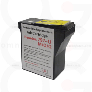 Red OGP Compatible Pitney Bowes 797-U Inkjet Cartridge