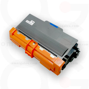 front view of blak OGP Compatible Brother TN750 Laser Toner Cartridge