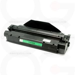 front view of black OGP Remanufactured Canon X25 Laser Toner Cartridge