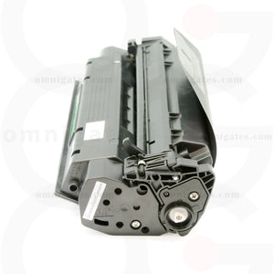 side view of black OGP Remanufactured Canon X25 Laser Toner Cartridge