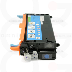 side view of cyan OGP Remanufactured Dell 330-1199 (TDR 3130C) Laser Toner Cartridge