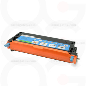 front view of cyan OGP Remanufactured Dell 330-1199 (TDR 3130C) Laser Toner Cartridge