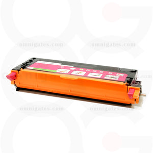 front view of magenta OGP Remanufactured Dell 330-1200 (TDR 3130M) Laser Toner Cartridge