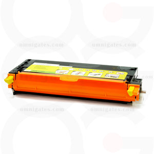 front view of yellow OGP Remanufactured Dell 330-1204 (TDR 3130Y) Laser Toner Cartridge