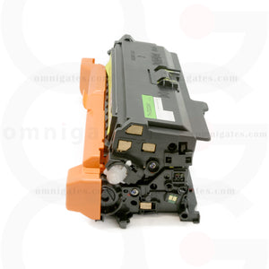 side view of yellow OGP Compatible HP CE252A Laser Toner Cartridge