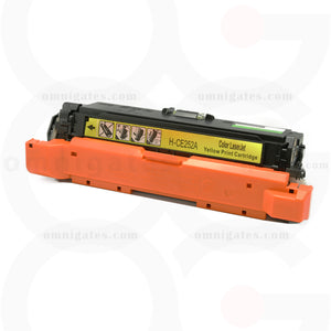 front view of yellow OGP Compatible HP CE252A Laser Toner Cartridge