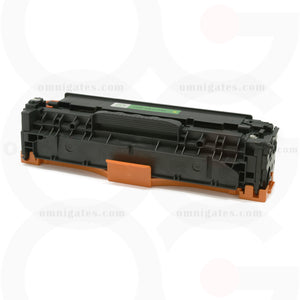 front view of yellow OGP Compatible HP CE412AY Laser Toner Cartridge