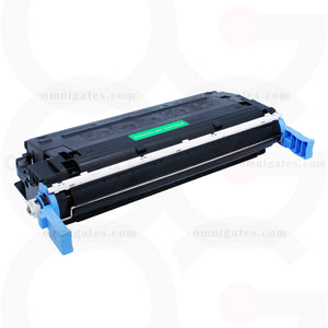 black OGP Remanufactured HP C9720A Laser Toner Cartridge