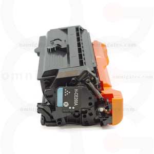 side view of black OGP Remanufactured HP CE260A Laser Toner Cartridge