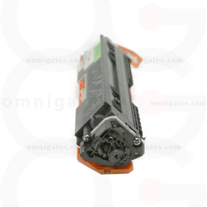 side view of black OGP Remanufactured HP CE310A Laser Toner Cartridge
