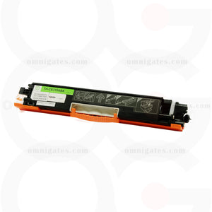 front view of black OGP Remanufactured HP CE310A Laser Toner Cartridge