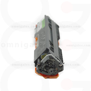 side view of yellow OGP Remanufactured HP CE312A Laser Toner Cartridge