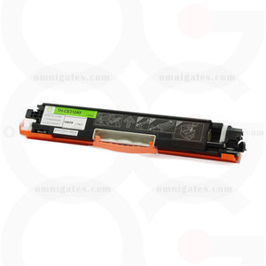 front view of yellow OGP Remanufactured HP CE312A Laser Toner Cartridge