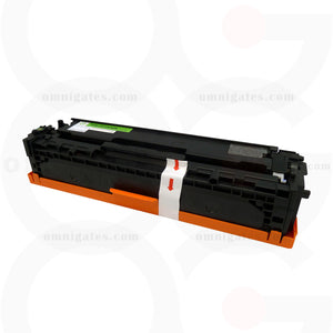 front view of black OGP Remanufactured HP CE320A Laser Toner Cartridge