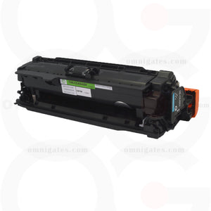black OGP Remanufactured HP CE400A Laser Toner Cartridge