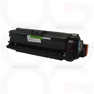 black OGP Remanufactured HP CE400X Laser Toner Cartridge
