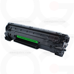 black OGP Compatible HP CB435A Laser Toner Cartridge