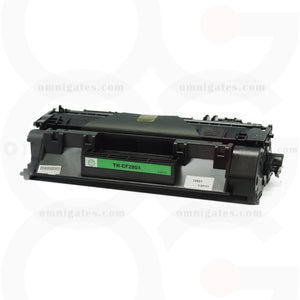 front view of black OGP Compatible HP CF280A Laser Toner Cartridge